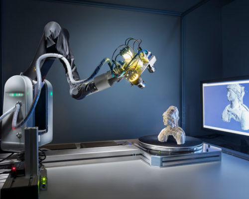 Real-Time Structured-Light Scanner © Fraunhofer IGD