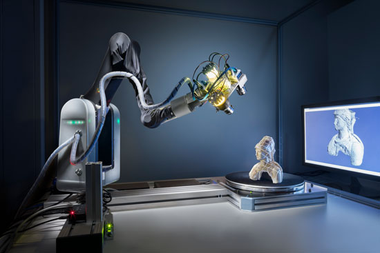 Real-Time Structured-Light Scanner © 3D-Modell: Fraunhofer IGD